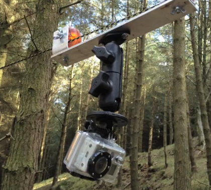 DIY GoPro Cable Cam Mount