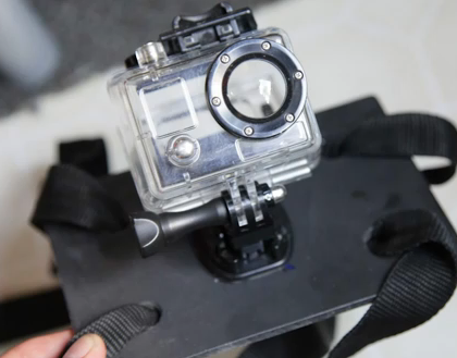 DIY GoPro Chest Mount
