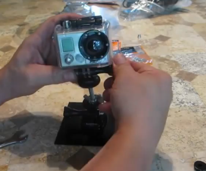 DIY GoPro Swivel Mount Adapter