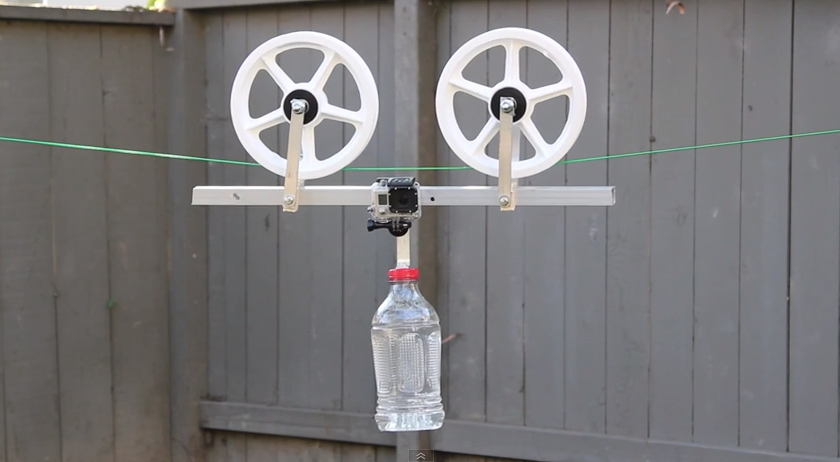 Gopro Cable Cam : Diy cablecam for gopro diygopro