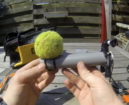 GoPro_DIY_Tennisball_Mount