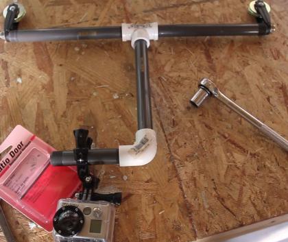 DIY GoPro Cablecam Mount
