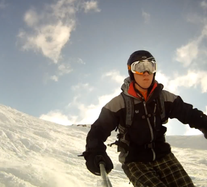 DIY GoPro Pole Mount with Ski Pole