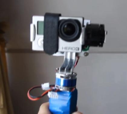 DIY Electronic Camera Gimble for GoPro