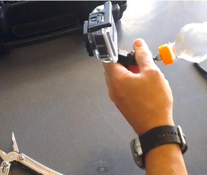 DIY GoPro Floaty Handle